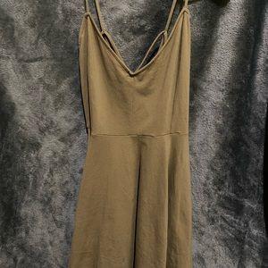 Olive Green Forever 21 Dress